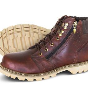 Boot Adventure Couro Texas Masculino Silverado Cafe 14b1b6cbf23