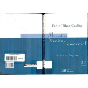 Fabio Ulhoa Coelho Manual De Direito Comercial Pdf
