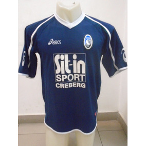 Camiseta Atalanta Italia Asics 2006 2007 Doni  72 Selección b5e4495ab6a47