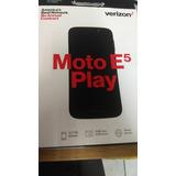 Moto E5 Play De Huella