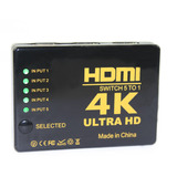 407d288b857ae Bstuo 1080p Hd 4k Hdmi 5-in-1 Out Hdmi Hub Switch Splitter -