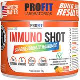Immuno Shot C/ Vit C + D3 + Glutamina + Zinco 200g - Profit
