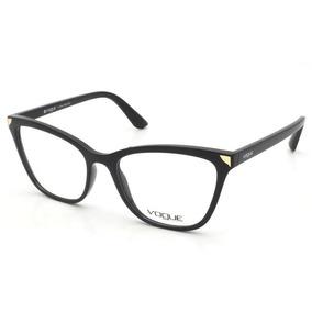 Armacao Oculos Vogue Original - Óculos Preto no Mercado Livre Brasil 589b9f904e