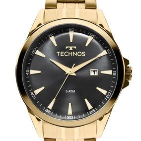 4b4affc23fb Relógio Technos Folheado A Ouro - Relógios De Pulso no Mercado Livre ...