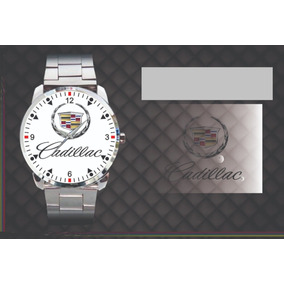 d687299d3ff Relógio De Pulso Personalizado Logo Chevrolet Cadillac 1960. R  84 90