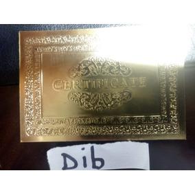 Dib 10 Notas Zimbabwe Gold 100t Dolares R$229,oo+certificado
