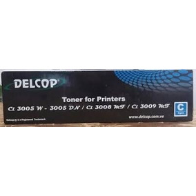 Toner Delcop Cyan 3005 3008 3009 Original Housecomputer