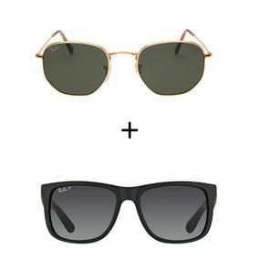 Ray Ban Hexagonal Polarizado - Óculos no Mercado Livre Brasil ad91a56b56