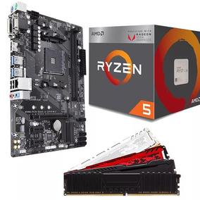 Kit Gamer Amd Ryzen 5 2400g + A320m + 4gb Ddr4 2400mhz