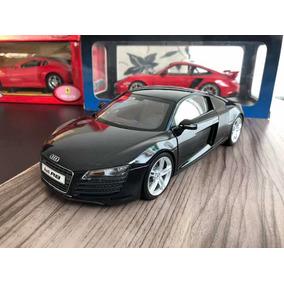 Audi R8 1/18 Black Kyosho Na Caixa