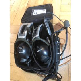 Headset Bose A10 - Particular Usado Na Caixa. Par De Fones B