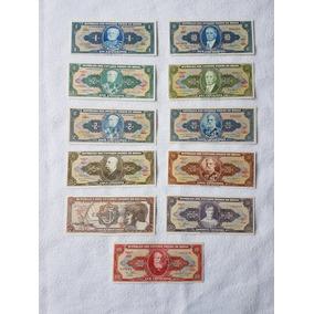 Lote De 11 Cédulas De Cruzeiros De 1967