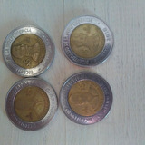 Vendo 21 Monedas $5 Conmemorativas Y Nuevos Pesos