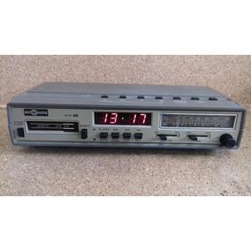 b90036f8a2f Rádio Relógio Motoradio Fm Am K7 Digital Vintage Funcionando