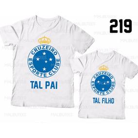 e7ef4942fc2fc Tal Pai Tal Filho Cruzeiro Futebol Time Kit Com 2 Ref 219
