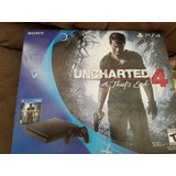 Ps4 Slim 500gb Uncharted 4