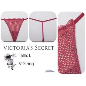 Panty Glamour Victoria´s Secret, Pink, Sexy Panties Talla L