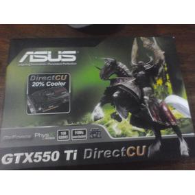 Tarjeta De Video Asus Gtx 550 Ti 1gb Ddr5