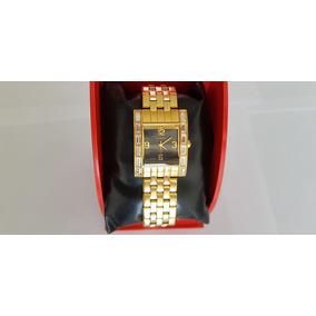 Relógio Technos Feminino Na Caixa Novo Folheado A Ouro Lindo