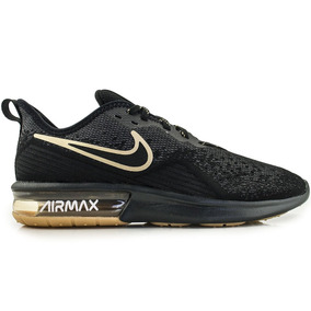 87edc867111 Nike Air Max Couro Preto E Dourado - Tênis no Mercado Livre Brasil