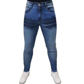 2d7039a49 Kit 5 Calças Jeans Lycra Luxo Masculina Skinny Premium Jeans