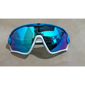 Oakley Jawbreaker Azul De Sol - Óculos no Mercado Livre Brasil be1b5fefb3