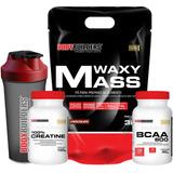 Kit Massa Muscular Hipercalorico 3kg + Creatine + Bcaa + Coq