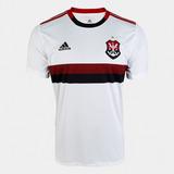 Camisa Flamengo 2019/20 Branca Oficial Personalizável