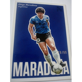3f58c8a1a540a Tarjeta Coleccionable De Maradona en Mercado Libre México