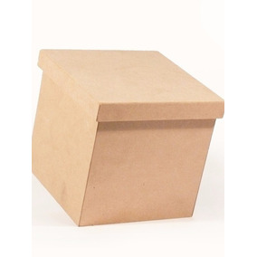 Caja Mdf 3mm 25x25x25