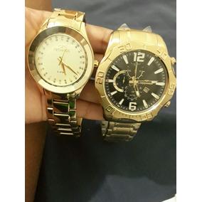 Dois Relógios Um Maculino E Um Feminino Os Dois Por 1500