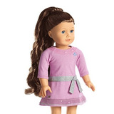 American Girl My Ag Curly Ponytail Brown Para 18 Muñecas ...