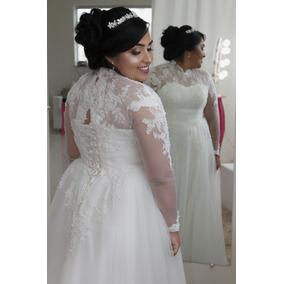 Vestido De Noiva Evangélica Veste Plus Size