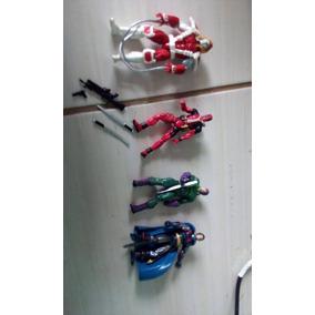 Lote 4 Marvel Universe - Cavaleiro,omega,deadpool,destruidor