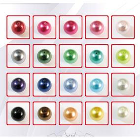 Paq. De 10 Hilos De Perla Cristal 14 Mm40 Pzas Aprox C/hilo