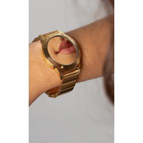 b54d0a4b9e7e3 Relogio Feminino Espelhado E Dourado - Relógios De Pulso no Mercado ...