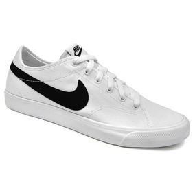 Tenis Wmns Primo Court Canvas 631635 Nike (13a) - Branco/pre
