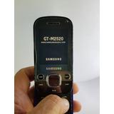 Samsung Beat Techno M2520 Semi-novo Ótimo Estado Original