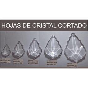 Hoja Cristal Cortado 75 Mm / Candil, Cortina, Decoración