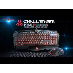 Teclado Mouse Thermaltake Tt Esports Challenger Prime