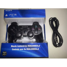Controle Manete Ps3 Dualshock Sony Playstation 3 C Cabo