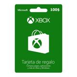 Tarjetas Xbox $100 Gift Card Usa