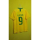 58336ad9c Camisa Da Selecao Brasileira Gabriel Jesus - Camisas de Futebol no ...