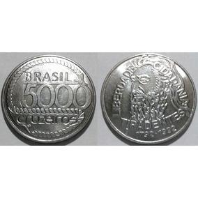 Moeda 5.000 Cruzeiros - 200 Anos Tiradentes / Comemorativa