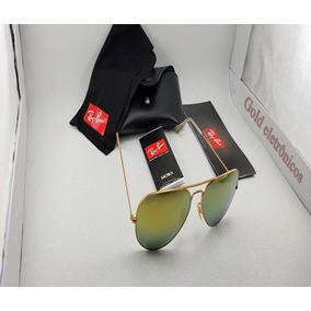 4b6034d440bcd Ray Ban Aviador Ouro - Óculos no Mercado Livre Brasil