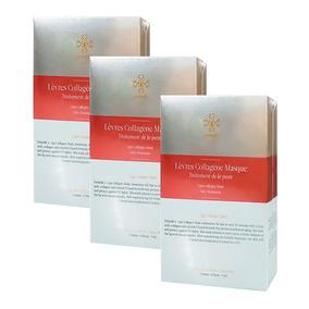 3 Tratamientos 4 Parches De Colágeno Para Labios