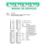 Manual Serviço Refrigerador Brastemp Brq47 Brj49 Bru49 Brm47