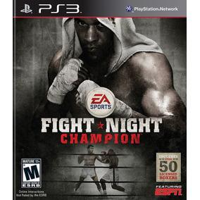 Jogo Fight Night Champion Ps3 Mídia Física Frete Grátis!