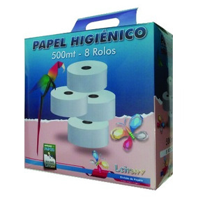 Leiraw Papel Higiênico Big Roll 500mt