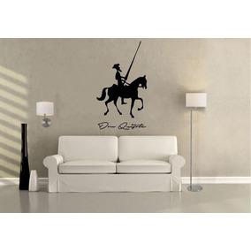 Vinilo Decorativo Don Quijote - Creando Vinilos